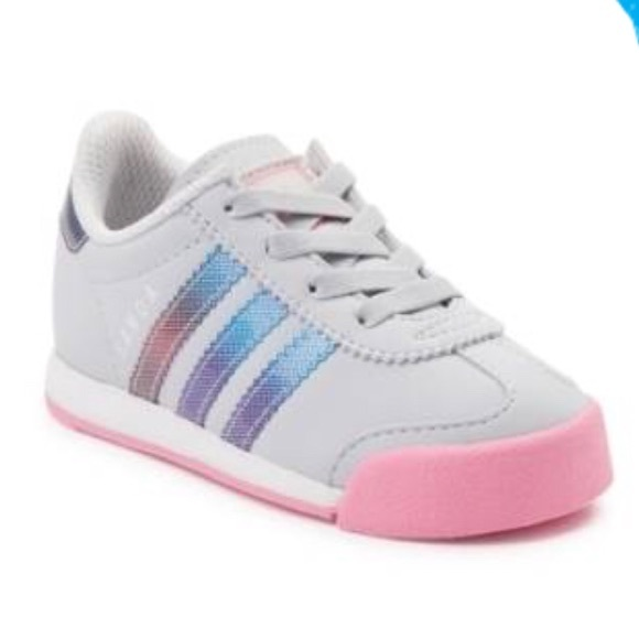 4e6e3b76e2ce adidas Other - Toddler Girls Adidas Samoa Sneakers